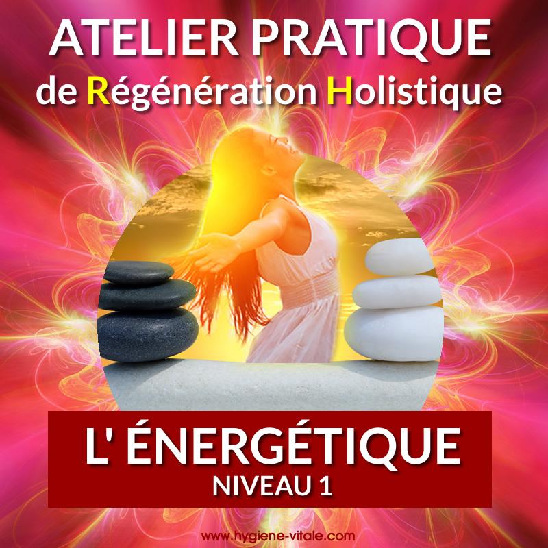 atelier pratique de régérération holistique - L'énergétique